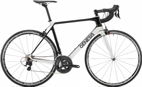 Genesis Zero Z2 Road Bike White 2018